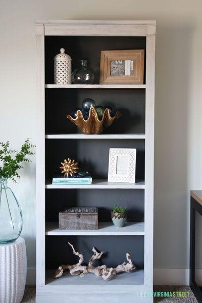 Best 20 Paint Bookshelf Ideas On Pinterest