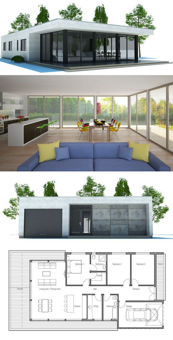 Small House Plan CH181