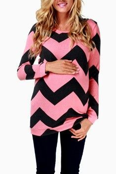as much as seeing anymore chevron makes me wanna throw up, this is actually kinda cute...  awesome boutique like maternity clothes  pinkblushmaternity.com