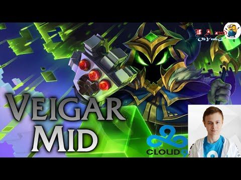 C9   Incarnati0n Veigar MID vs Twisted Fate   LoLPatch 5 24