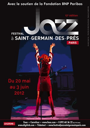 If you're in Paris this Spring/Summer, you've got to check out the annual jazz festival in Saint-Germain-des-Pres. Grab a drink at Les Deux Magots afterwards and let the spirit of Jean-Paul Sartre and SImone de Beauvoir inspire your creativity.