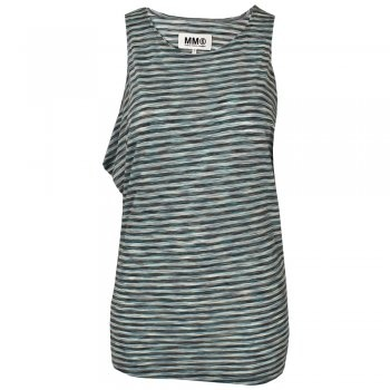 Available at www.my-favourite-thing.com Draped jersey vest £160
