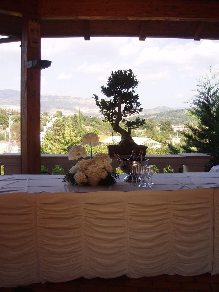 #Bouffet #Marriage #Bonsai #VillaCaribe