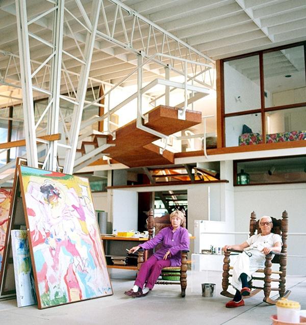 Willem de Kooning's East Hampton Studio