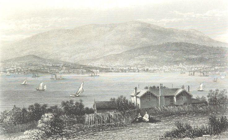 Hobart Town, Tasmania 1873
