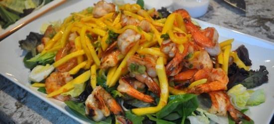 Mango salad, Mango and Shrimp on Pinterest