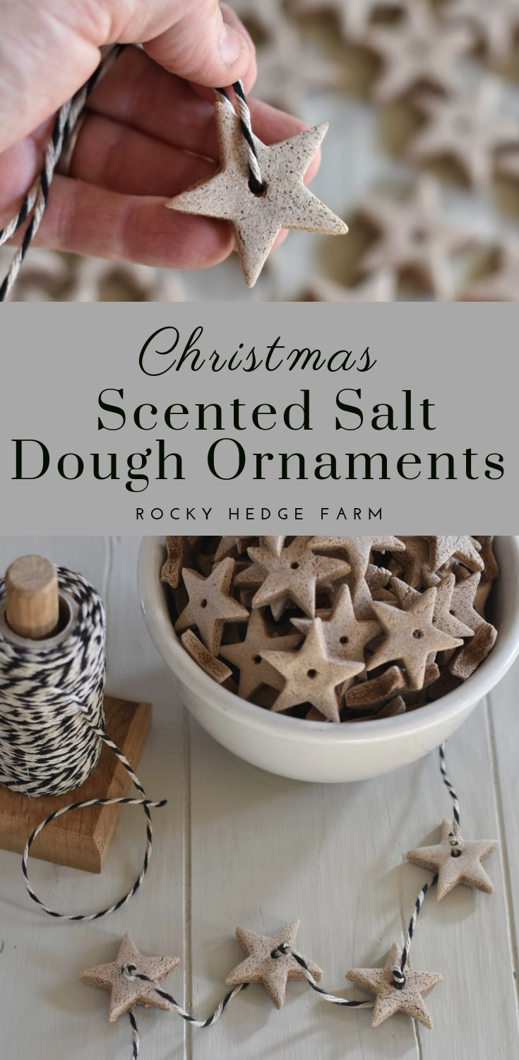 DIY Christmas Ornament | Scented Salt Dough