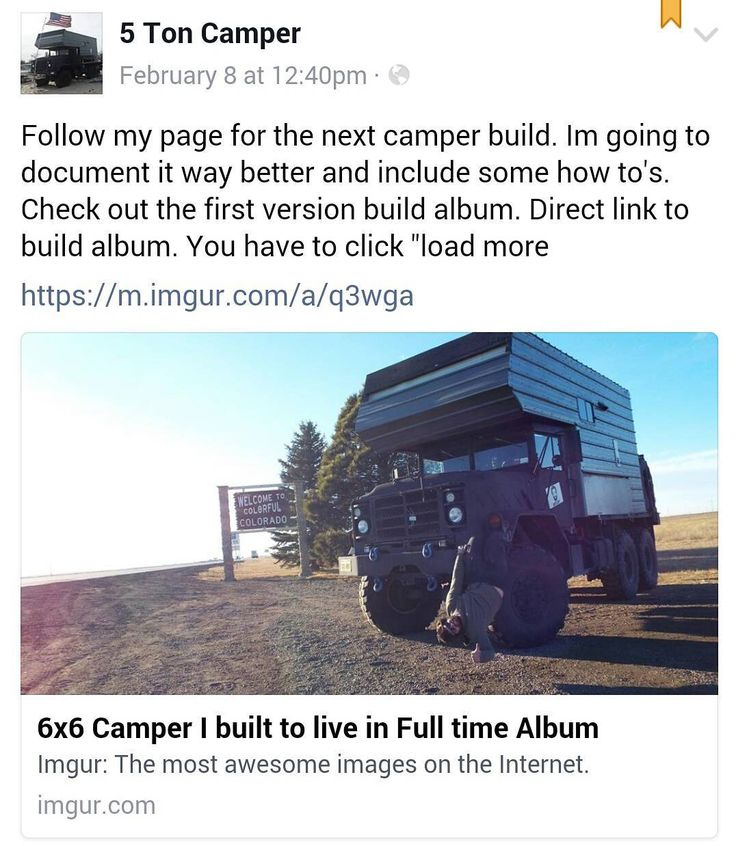 Did you guys know I have a build album? Its sitting right at the top of my Facebook page. I post more pictures on there and also do some writeups. If you're interested in the next build you're probably going to want to follow on there. I'm researching my next build pretty hard still. I will be using sailboat parts Semi truck parts murderous humanoid robot parts and whatever else catches my eye! The link to my Facebook is up top . . . . #adventurerig #adventuremobiles #adventuremobile #build…