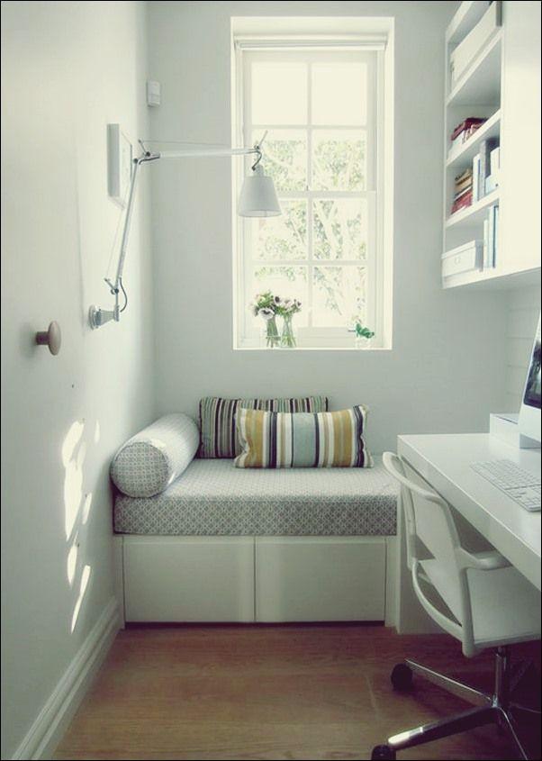 Coole Sitzmoglichkeiten Fur Ein Home Office Coole Office Sitzmoglichkeiten Klei Gestaltung Kleiner Raume Kleines Schlafzimmer Dekor Dekor Fur Kleine Raume