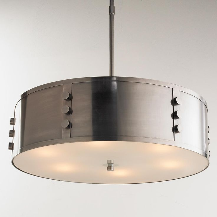 Industrial Steel Bolted Pendant Chandelier Bolted Together