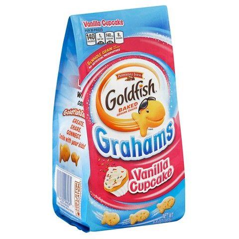 Pepperidge Farm® Goldfish Vanilla Cupcake Grahams Snacks - 6.6 oz