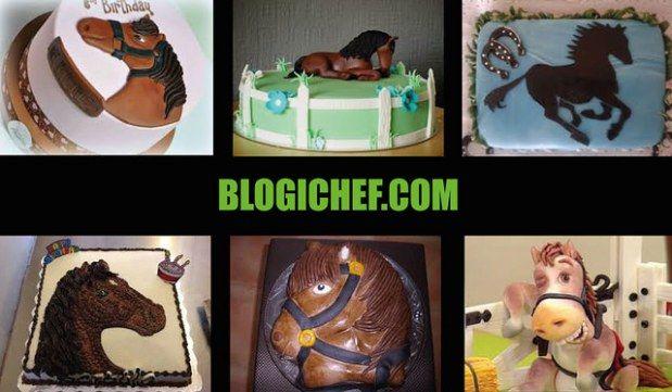 Ideas, Diseños e Imágenes de Pasteles y Tortas de Caballos para Cumpleaños