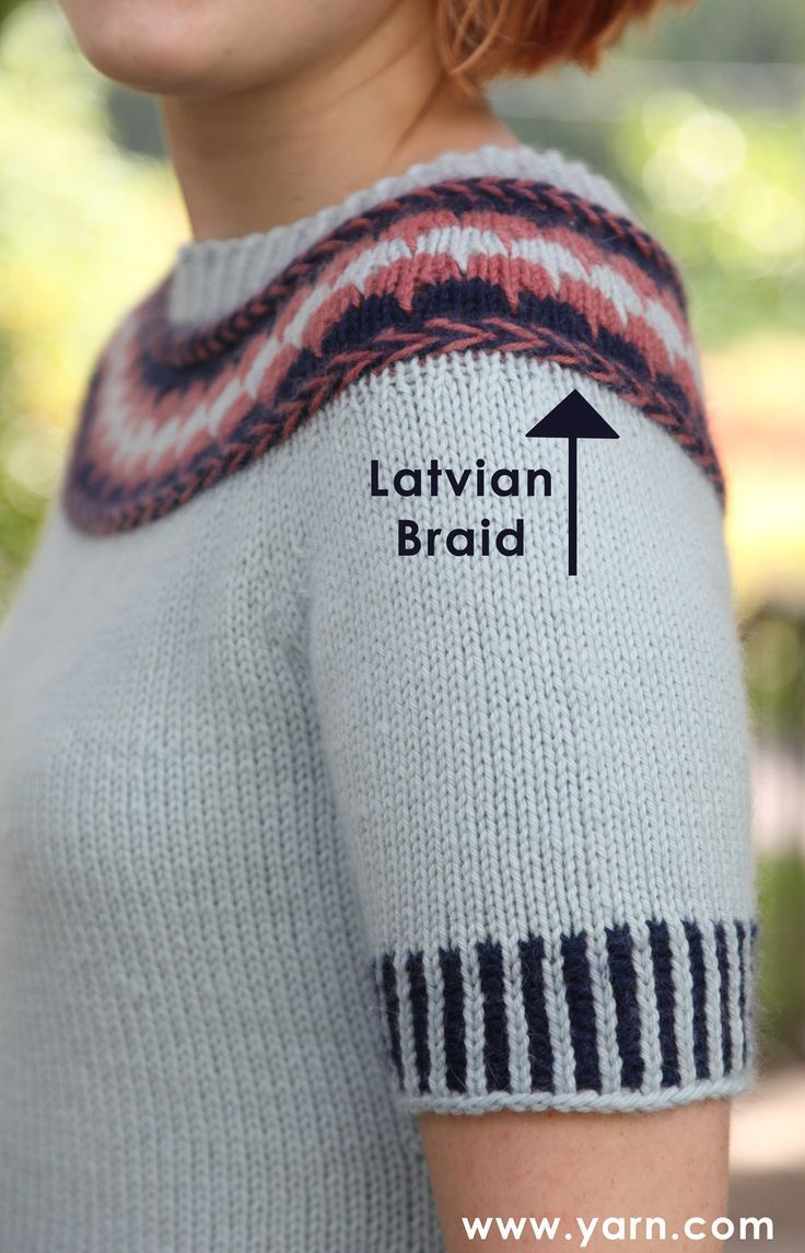 How to Knit a Latvian Braid. Finally a good video tutorial!!.
