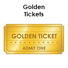 A golden ticket grants admission to the most special of events. These free blank golden ticket templates will make your guests feel welcome and unique.
