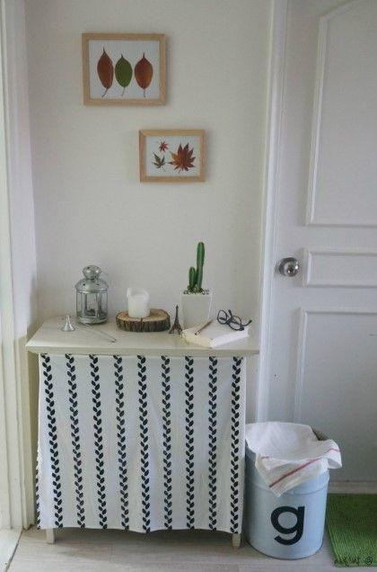 가을 인테리어 초간단 인테리어 소품 만들기 낙엽액자 만들기 셀프인테리어 13평 아파트 인테리어 + 요즘 ...
