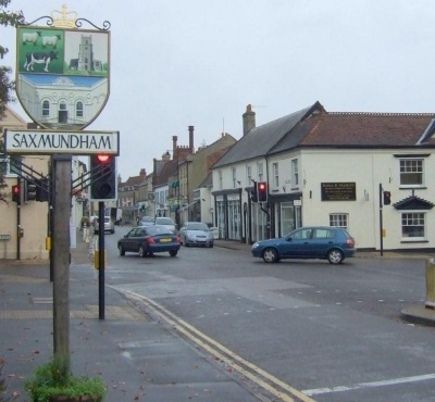 One of the towns in England where we lived.