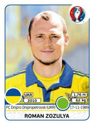 Roman Zozulya - Ucrania - EURO 2016