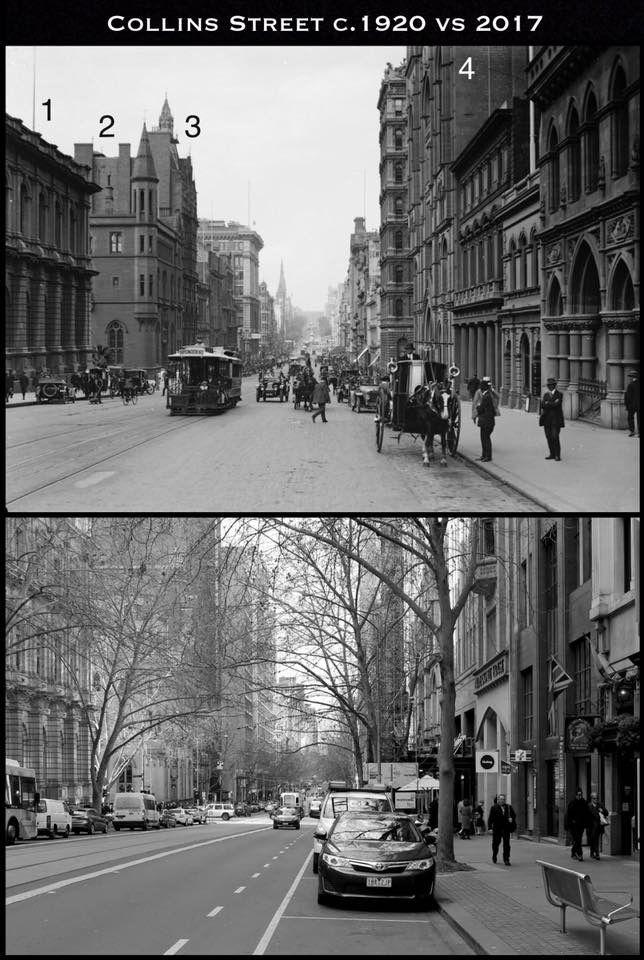 Colin ST. Melbourne  now&then.