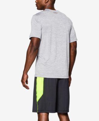 Under Armour Men's Tech V-Neck Men's Short Sleeve Shirt - Black XXXL
