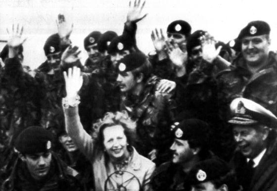 Thatcher, libertadora argentina