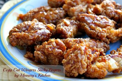 Mommy's Kitchen - Old Fashioned & Southern Style Cooking: Copy Cat Wingers Sticky Fingers perfect Game Day Eats!