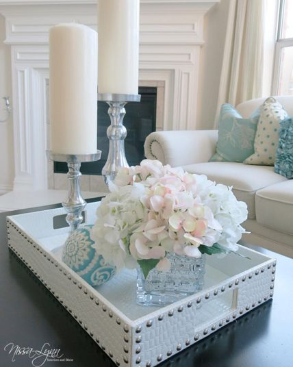 Such Elegant Tray Styling By Designer Nissalynninteriors Features Our Everglades Tray