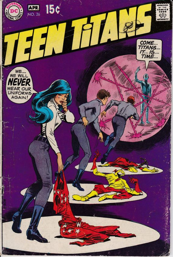 Teen Titans 1966 1st Series 26 April 1970 Issue  DC by ViewObscura
