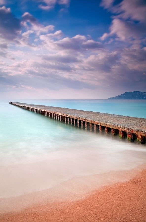 Old Pier - Cannes, France: Favorite Places, Beautiful Places, Bocca French, France, Beautiful Beach, Travel, French Riviera