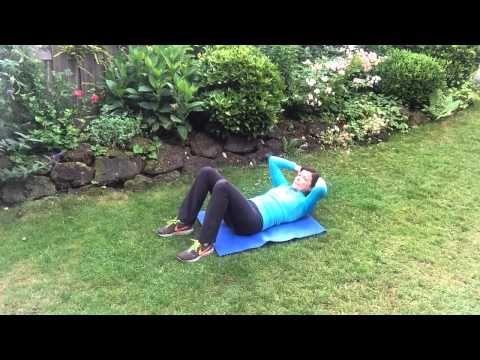 Buikspier training....lekker voor de zaterdag - YouTube