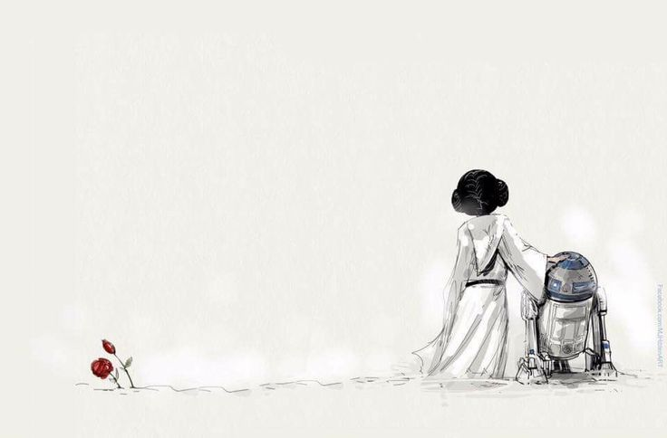 RIP  Kenny Baker August 13th 2016 & Carrie Fisher Dec 27th 2016