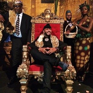 """Swizz Beatz's birthday is this week so Alicia Keys threw him a party fit for a prince. It was Coming to America themed and it's perfect. 