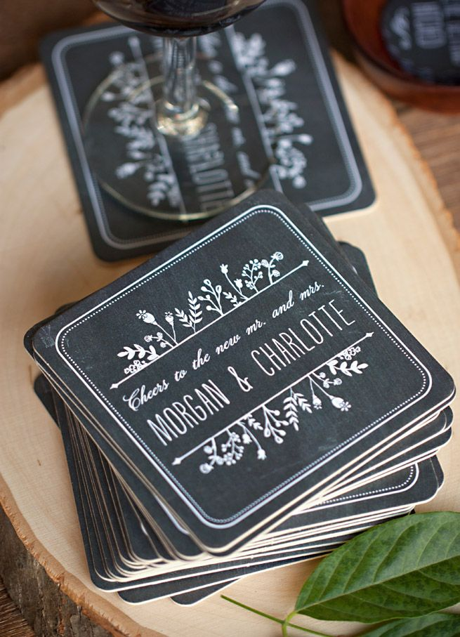 Chalkboard Wedding Invitation Suite designed by Emily Crawford from Evermine.com #stationery #papergoods #evermine