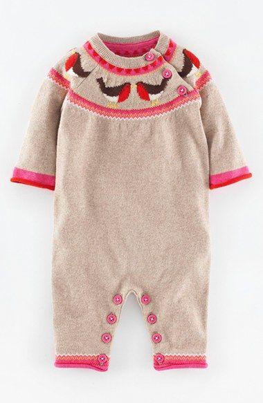 Infant girl 39 s mini boden knit romper rompers baby girls for Boden jumpsuit
