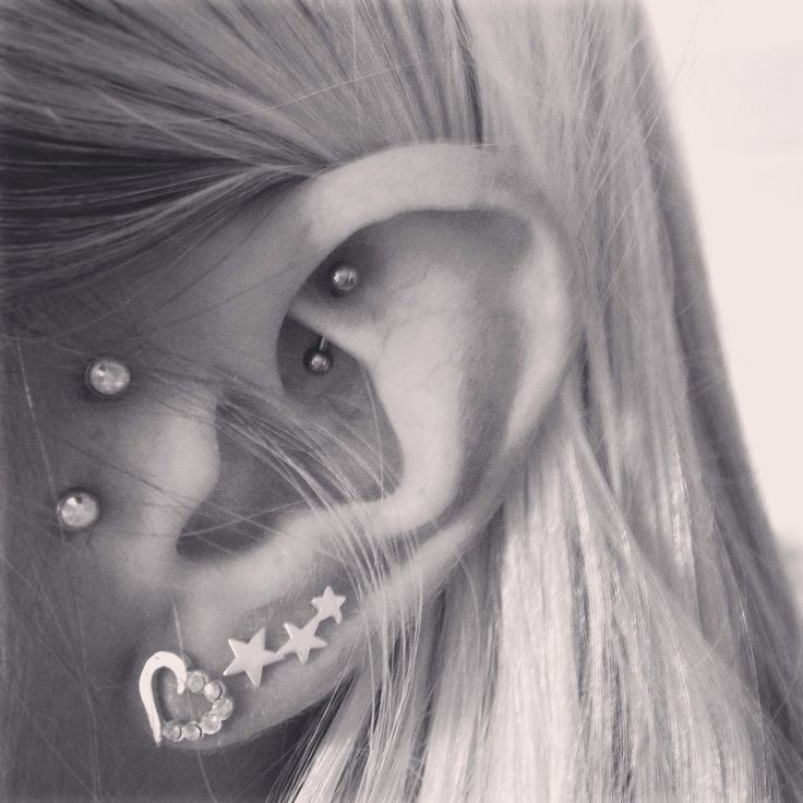 My new rook piercing to add to my vertical Tragus :)   #Rook #rookpiercing #verticaltragus #piercing