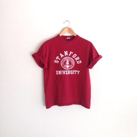 90s vintage Stanford University Tshirt