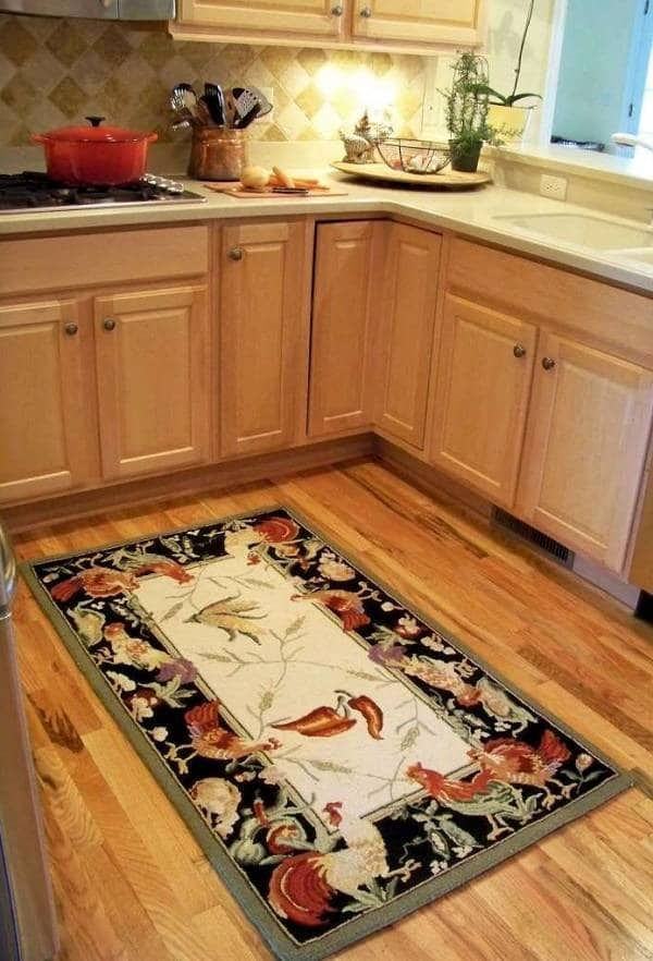 Country kitchen floor mats gurus floor for Country kitchen flooring