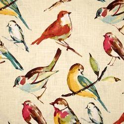 Birdwatch Meador Drapery Fabric by Richloom