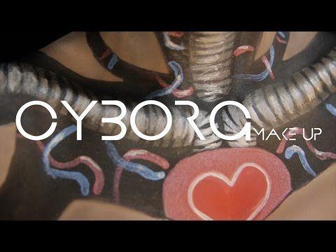 Cyborg Make Up | @li.bai.belli