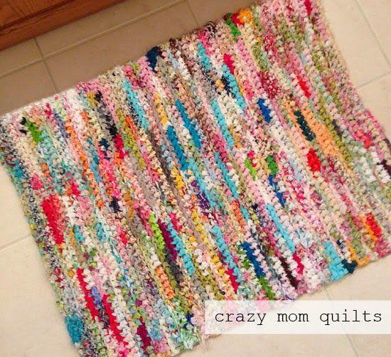 Crochet A Rag Rug Instructions: 17 Best Ideas About Crazy Mom On Pinterest