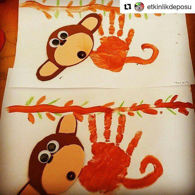 #Repost @etkinlikdeposu with @repostapp ・・・#etkinlikkurdu  Bu maymunlar çok şapşik :)) #kids #art #crafts #preschool #sayılar #okulöncesi #okulöncesietkinlik #anaokulu #etkinlikpaylasimi #etkinlikpaylaşımı #etkinlikdeposu #etkinlik #sanatetkinliği #artıkmateryal #çocuklaraaktivite #elmaşekeri #ailekatılımı #elma #şeker #çocukluğum #maymun #monkey #etkinlikpaylaşım #elbaskısı