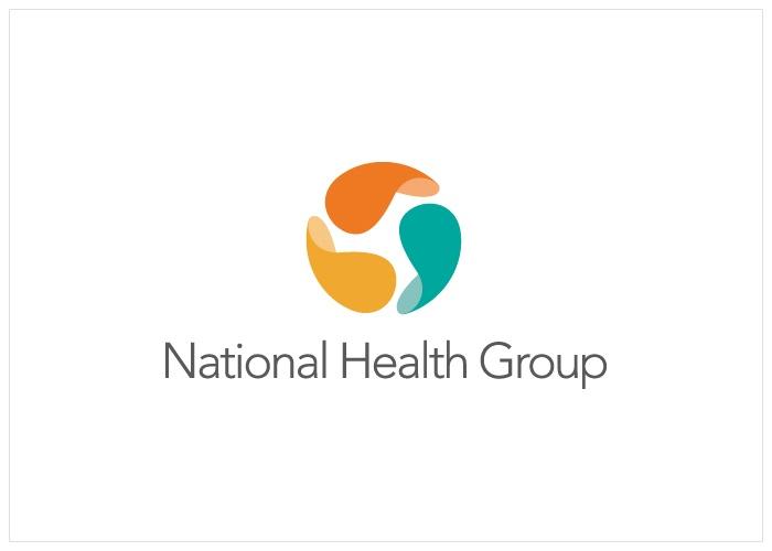 National Health Group Logo - Designed by www.jenclark.com.au