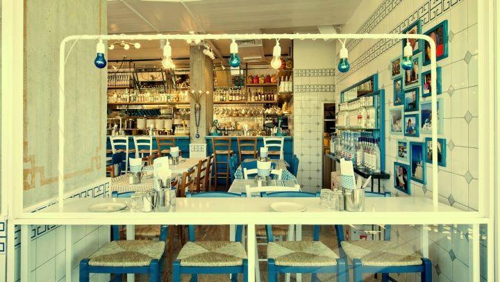 GRECO Greek restaurant by Dan Troim, Tel Aviv – Israel » Retail Design Blog