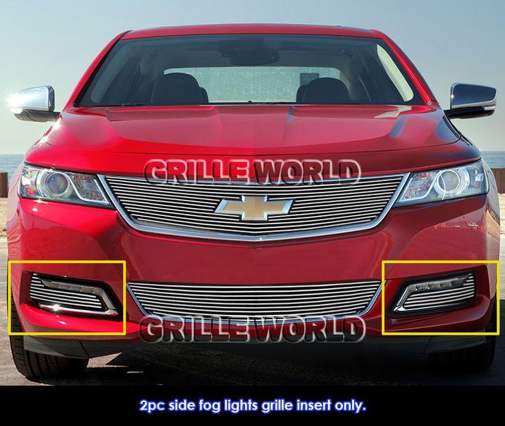 For-2014-2015-Chevy-Impala-Fog-Light-Cover-Billet-Grille-Insert