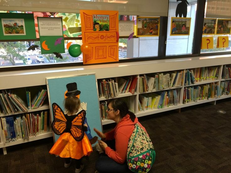 Trick-or-Read: A Halloween Storywalk Exhibit