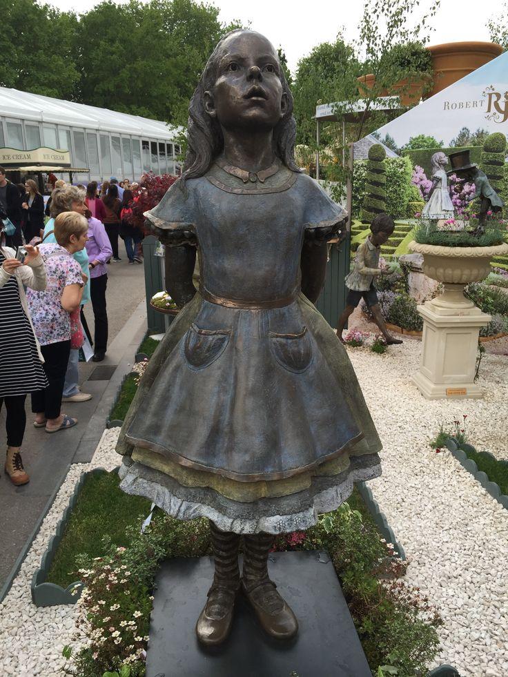 12 best images about garden sculpture from the chelsea - Alice in wonderland garden statues ...