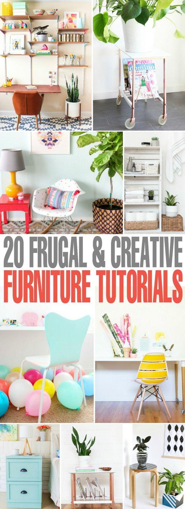 20 Cheap Easy And Creative Furniture Tutorials