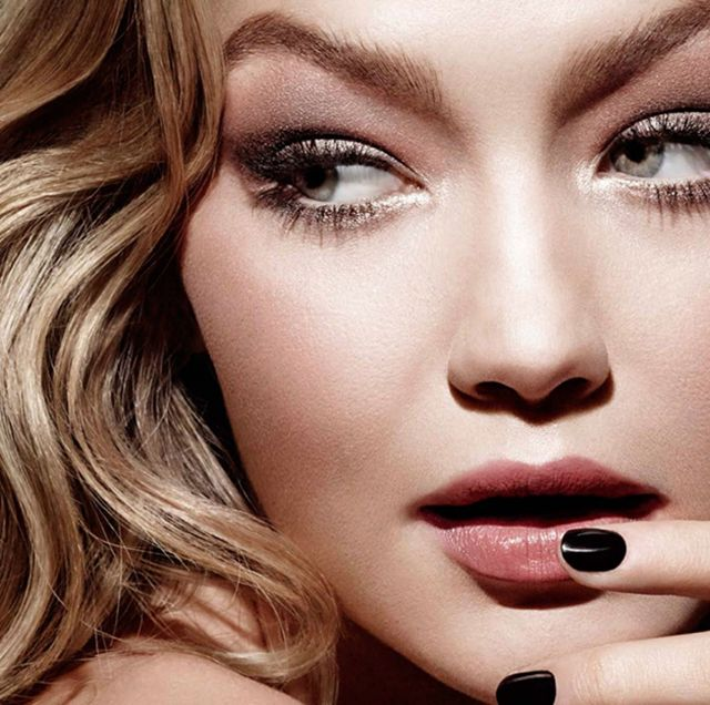 Gigi Hadid gives us major #browgoals in Tom Ford's beauty campaign