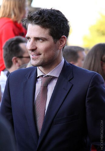 Patrick Sharp-handsomest man in hockey