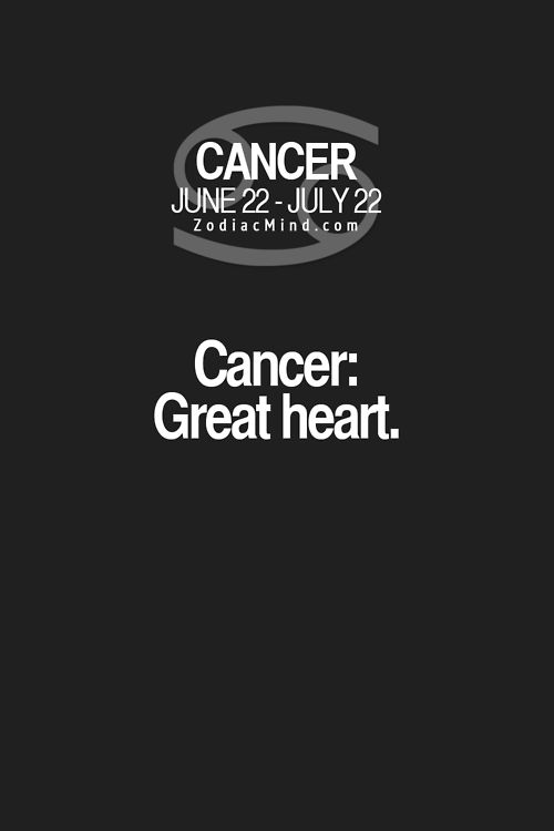 It's true, we do have great hearts! #cancer #cancerian