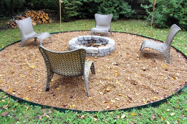 21 best images about outdoor decorating ideas on pinterest for Fire pit area ideas